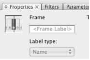 Make frame labels