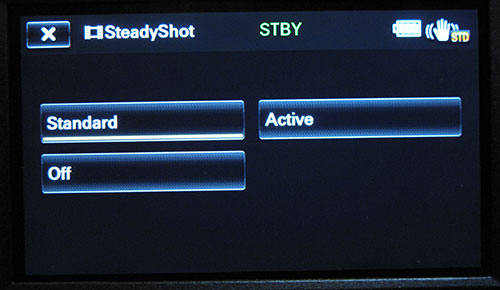 Steady shot options